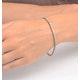 4ct Diamond Tennis Bracelet Claw Set in 9K Yellow Gold - image 4