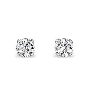 DIAMOND EARRINGS 0.10CT STUDS DIAMOND 9K GOLD
