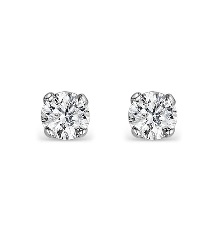 Diamond Earrings 0.15ct Studs in 9K Gold -  B3468