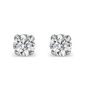 DIAMOND EARRINGS 0.25CT STUDS IN 9K GOLD -  B3460