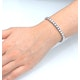 Silver Diamond Set 1.00ct Tennis Bracelet - image 3