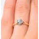 Certified Low Set Chloe 18K Gold Diamond Engagement Ring 0.75CT - image 4